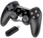 Nitho Wireless Vogue Pad (Black, For PS3)