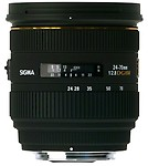 Sigma Lens 24 ~ 70 2.8 If Ex Dg Hsm For Nikon Hood And Case