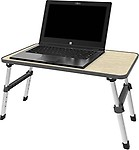 Sevia Height Adjustable Foldable Multi-Function Portable Laptop Table/Study Table/Bed Table