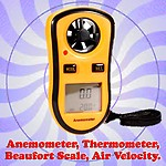 Gadget Hero Digital LCD Pocket Anemometer
