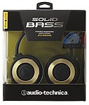 Audio-Technica Solid Bass ATH-WS550iSBGD Headphones
