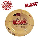 OutonTrip Raw Round 5.5-Inch Metal Small Ash Tray