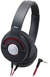 Audio Technica Solid Bass Portable Headphones Black Ath-Ws55X Brd (Japan Import) Headphones