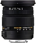 Sigma Lens 17 ~ 50 2.8 Dc Os Hsm For Nikon Hood And Case