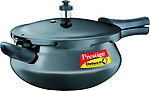 Prestige Deluxe Plus Junior Induction Base Hard Anodized Pressure Handis, 4.8 Litres