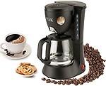 Techzo ST-DCM01-1 : 600 Watt Drip Coffee Maker - 6 Cups(600Ml)