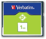 Verbatim 1 GB Compact Flash 6.5 MB/s Memory Card
