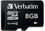 Verbatim microSDHC 8 GB Class 4 Memory Card