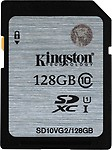 Kingston 128 GB MicroSDXC Class 10 45 MB/s Memory Card