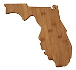 Totally Bamboo Cutting and Serving Board Florida State