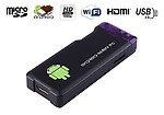 Gadget Hero MK802+ Mini PC Android 4 Wi-fi Google Smart TV Box, 1GB DDR3 RAM, 4 GB HDD (Black)