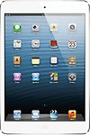 Apple iPad Mini 16GB Wi-Fi + Cellular (White and Silver)