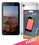 Layers Karbonn A30 matte screen guard with Anti-reflection