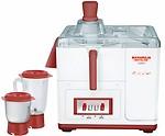 Maharaja Whiteline JX-202 450 Juicer Mixer Grinder 2 Jars