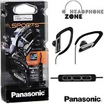 Panasonic RP-HSC200E-K Sports Headphone with Mic + iPod Controller