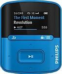 Philips SA4RGAD4BF/97 4 GB MP3 Player (Blue)