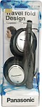 Panasonic Foldable Headphone for Ipod / MP3 player,RP-HT030E-S - Silver