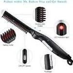 Eden Oak Electric Straightener Comb for Men Beard and Hair Style Women Short Hair Straightening Heat Brush