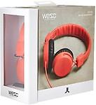 Wesc Unisex Pitston Street Headphones, Navy Headphones