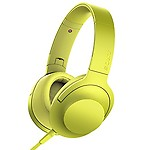 Sony MDR-100AAP On-Ear Hi-Res Audio Headphones (Lime)