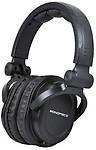 Monoprice Premium Hi-Fi Dj Style Over-The-Ear Pro Headphone [Electronics] Headphones