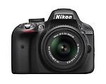 Nikon D3300 24.2 MP CMOS Digital SLR with AF-S DX NIKKOR 18-55mm f/3.5-5.6G VR II Zoom Lens