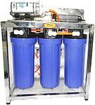 Orange 25 LPH RO Water Purifier (SS Skid 25 RO Water Purifier