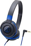 Audio Technica ATH-S100 BBL On-the-ear Headphones