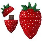 Microware Fancy Designer Strawberry Shaped 32GB Pendrive