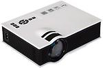 VibeX UNIC UC40 Mini AV A/V USB & SD HDMI Video LED Beamer 800 lm LED Corded Portable Projector
