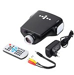 Microware 50 lm LED Corded Portable Projector