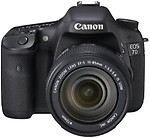 Canon EOS 7D DSLR Camera with Canon EF 18-135mm Lens