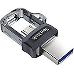 sandisk 64gb Ultra Dual USB 3.0 and Micro USB Flash Drive, up to 150mb/s Read Speed