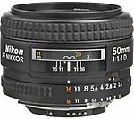 Nikon AF S NIKKOR 50mm F/1.4G Lens