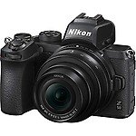 Nikon Z50 (Z DX 16-50mm f/3.5-6.3 VR) 20.9 MP DX-format Mirrorless Camera with 64GB Card