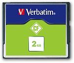Verbatim 2GB CompactFlash Memory Card (Green)