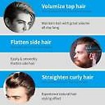 Nirvi Men Quick Beard Straightener Hair Comb Multi-functional Hair Curler Show Cap Tool 234364 Hair Styler