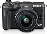Canon EOS M6 DSLR Camera Kit (EF-M15-45 IS STM)