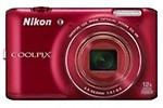 Nikon Coolpix S6400 16MP Point & Shoot Digital Camera
