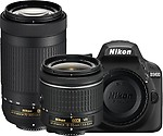 Nikon Digital Camera D3400 DSLR Camera ( with Kit Lens (AF-P DX NIKKOR 18 - 55 mm f/3.5 - 5.6G VR + AF-P DX NIKKOR 70 - 300 mm f/4.5 - 6.3G ED VR) )
