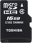 Toshiba SD Card 16 GB Class 4