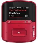 Philips GoGear SA4RGA04RF/94 Raga MP3 Player 4GB (Red)
