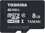 Toshiba Ultra 8 GB MicroSD Card Class 10 40 MB/s Memory Card