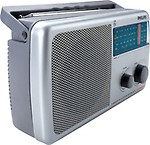 Philips IN/RL384TV/N 4 Band Radio - Grey
