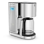 Russell Hobbs Glass Series 8-Cup Coffeemaker, Silver & CM8100GYR