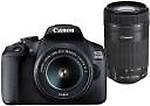 Canon EOS 1500D Kit (EF S18-55 IS II + 55-250 mm) 24.1 MP DSLR Camera