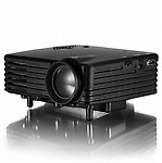 VibeX 120 lm LED Corded Portable Projector