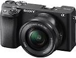 Sony Alpha ILCE-6400L Mirrorless Camera with 16-50mm Power Zoom Lens
