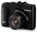 Canon Powershot G16, black