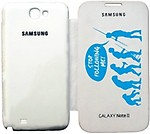 Printland Standout Flip Cover for Samsung Galaxy Note 2